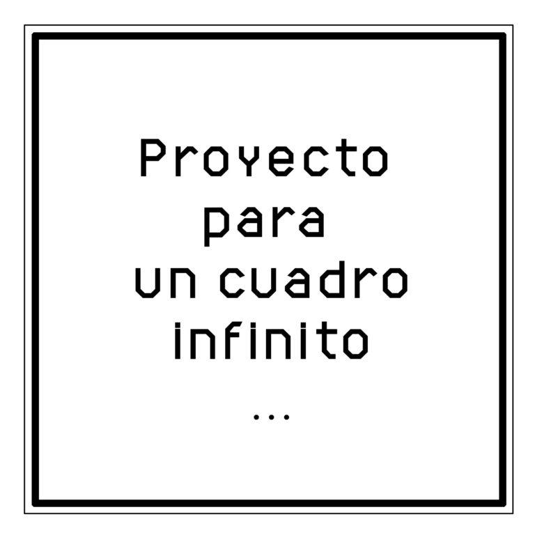 Imagen del proyecto Cuadro infinito