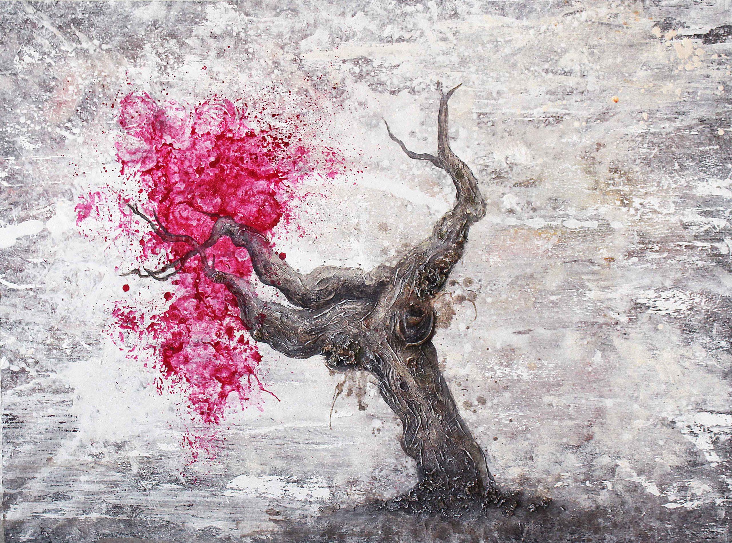 Pintura de una vid